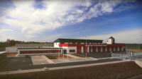 Časosběr ze stavby hasičské stanice